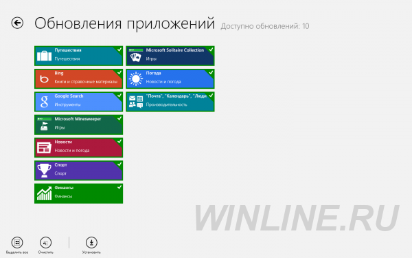 Магазин Windows Store в Windows 8